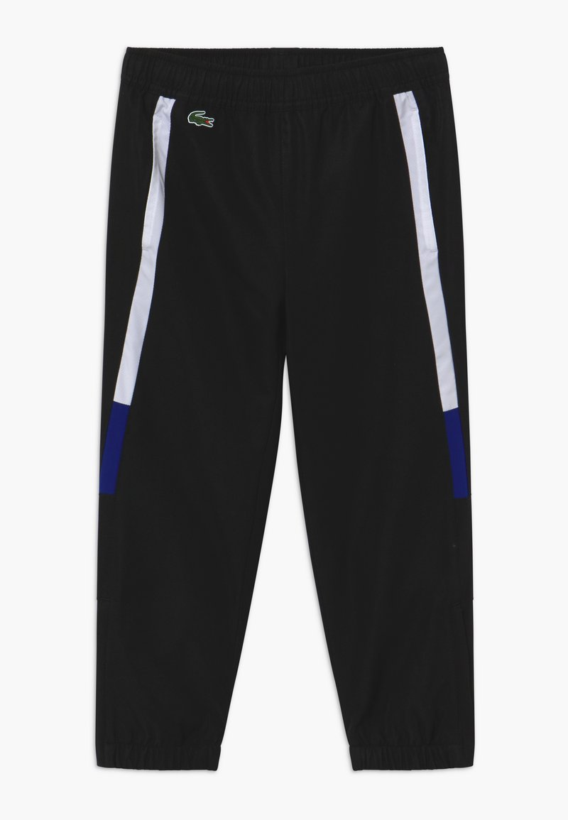 Lacoste Sport - TENNIS PANT - Tracksuit bottoms - black/white cosmic