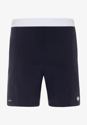 TENNIS SHORT ROLAND GARROS - Sports shorts - navy blue/white