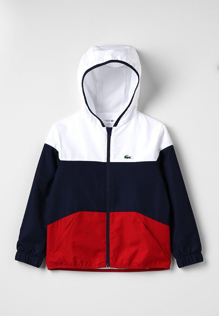 Lacoste Sport - Sportovní bunda - white/navy blue/red