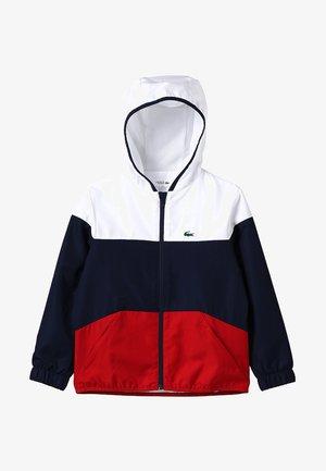 Sportovní bunda - white/navy blue/red