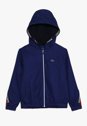 TENNIS JACKET - Sportovní bunda - ocean/red/navy blue/white