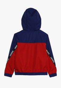 Lacoste Sport - TENNIS JACKET - Veste de survêtement - ocean/red/navy blue/white - 1