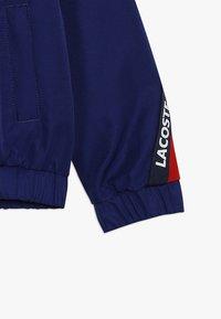 Lacoste Sport - TENNIS JACKET - Veste de survêtement - ocean/red/navy blue/white - 4