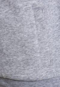 Lacoste Sport - TENNIS HOODIE - Zip-up hoodie - silver chine/navy blue - 3