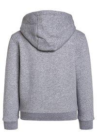 Lacoste Sport - TENNIS HOODIE - Zip-up hoodie - silver chine/navy blue - 1