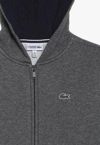 Lacoste Sport - TENNIS HOODIE - veste en sweat zippée - pitch/navy blue - 4