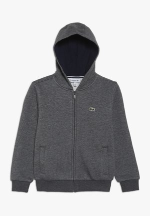 TENNIS HOODIE - veste en sweat zippée - pitch/navy blue