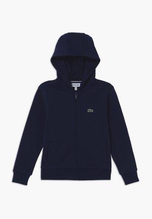TENNIS HOODIE - veste en sweat zippée - navy blue