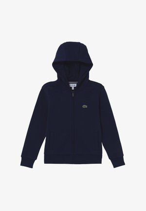 TENNIS HOODIE - Zip-up hoodie - navy blue
