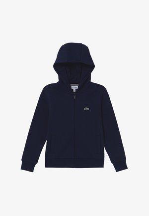TENNIS HOODIE - Bluza rozpinana - navy blue