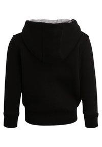 Lacoste Sport - TENNIS HOODIE - veste en sweat zippée - noir/argent chine - 1