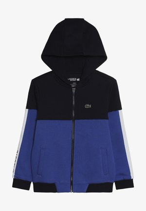 Sweat à capuche - navy blue/obscurity/white-black