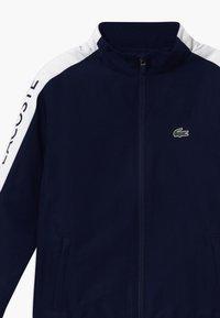 Lacoste Sport - TRACKSUIT - Survêtement - navy blue/white - 4