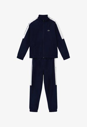 TRACKSUIT - Tracksuit - navy blue/white