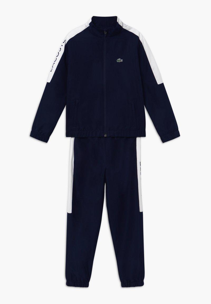 Lacoste Sport - TRACKSUIT - Survêtement - navy blue/white