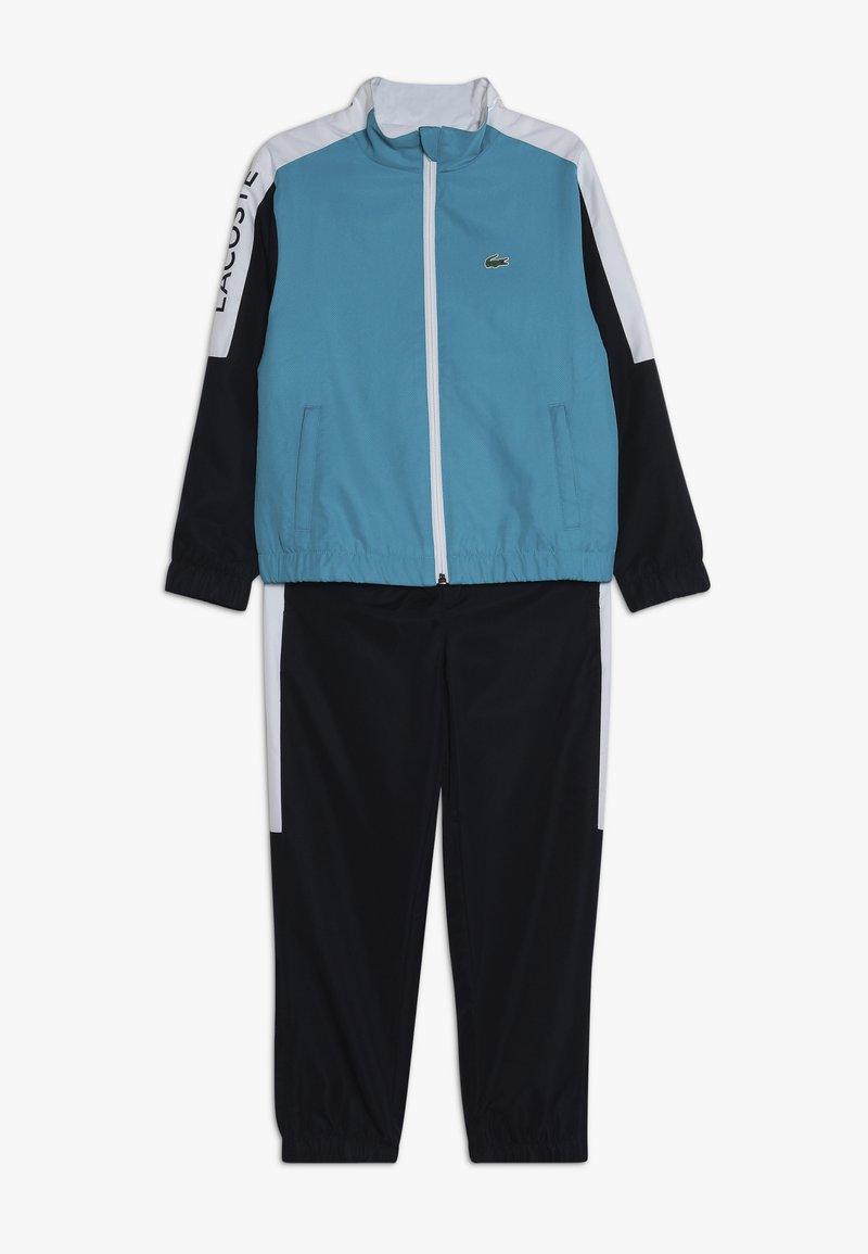 Lacoste Sport - TRACKSUIT - Survêtement - cuba/navy blue/white