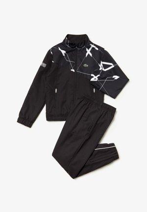 SPORT WJ9485  - Pantalon classique - noir / blanc / blanc
