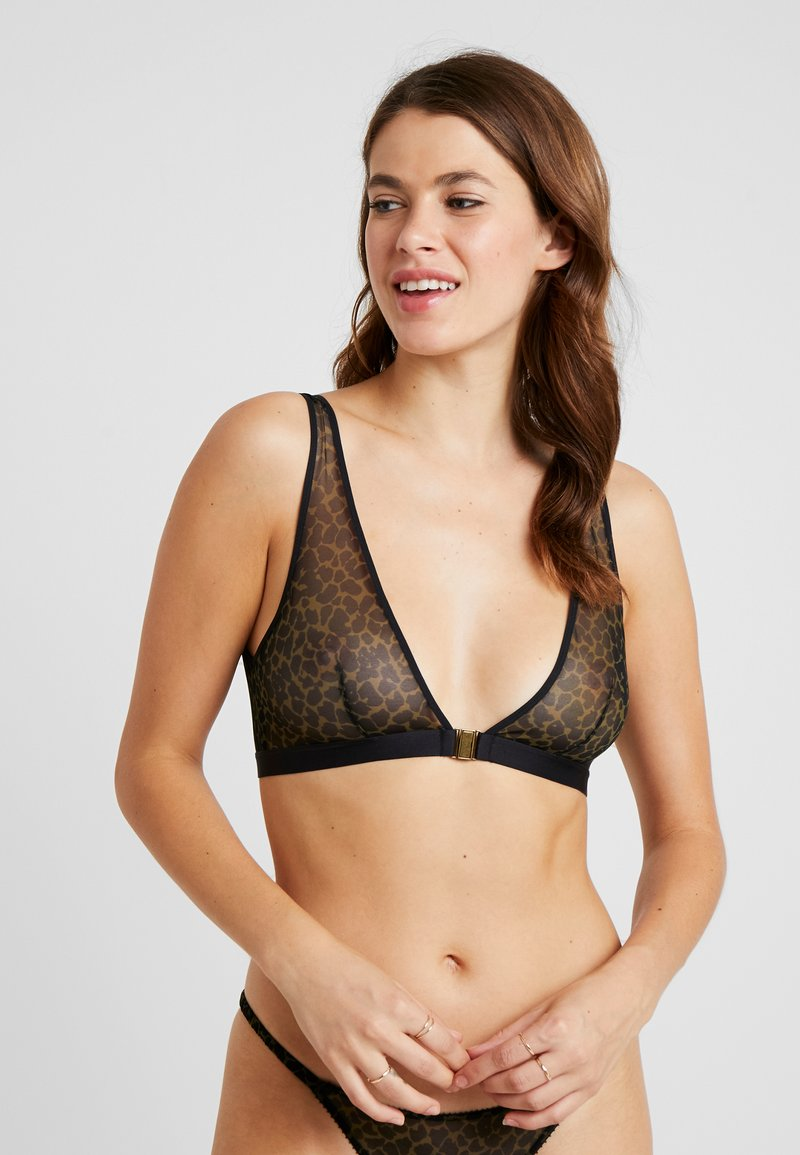 LOVE Stories - HOLLY - Triangle bra - fern