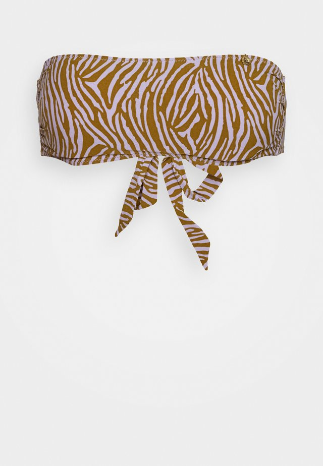 BOND - Bikini top - zebra
