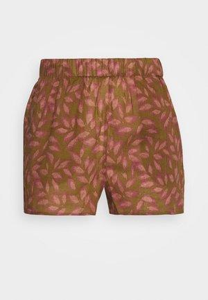 ABBIE - Pyjamabroek - brown/pink