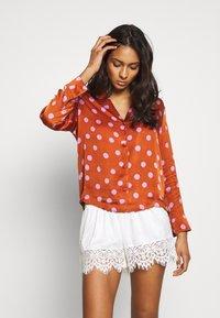 LOVE Stories - BLUEMOON - Pyjamashirt - brown/pink - 1