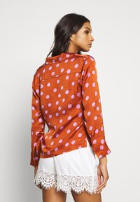 LOVE Stories - BLUEMOON - Pyjamashirt - brown/pink - 2