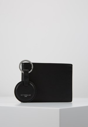 KEY RING AND WALLET ZIPPED POCKET SET - Porte-clefs - noir