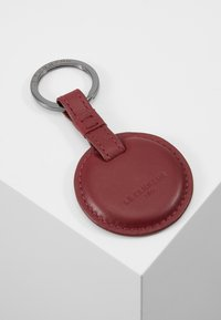Le Tanneur - BOX WITH KEY RING AND WALLET ZIPPED POCKET - Charm - bordeaux - 7