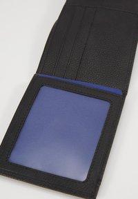 Le Tanneur - CHARLES - Wallet - noir/le bleu - 6