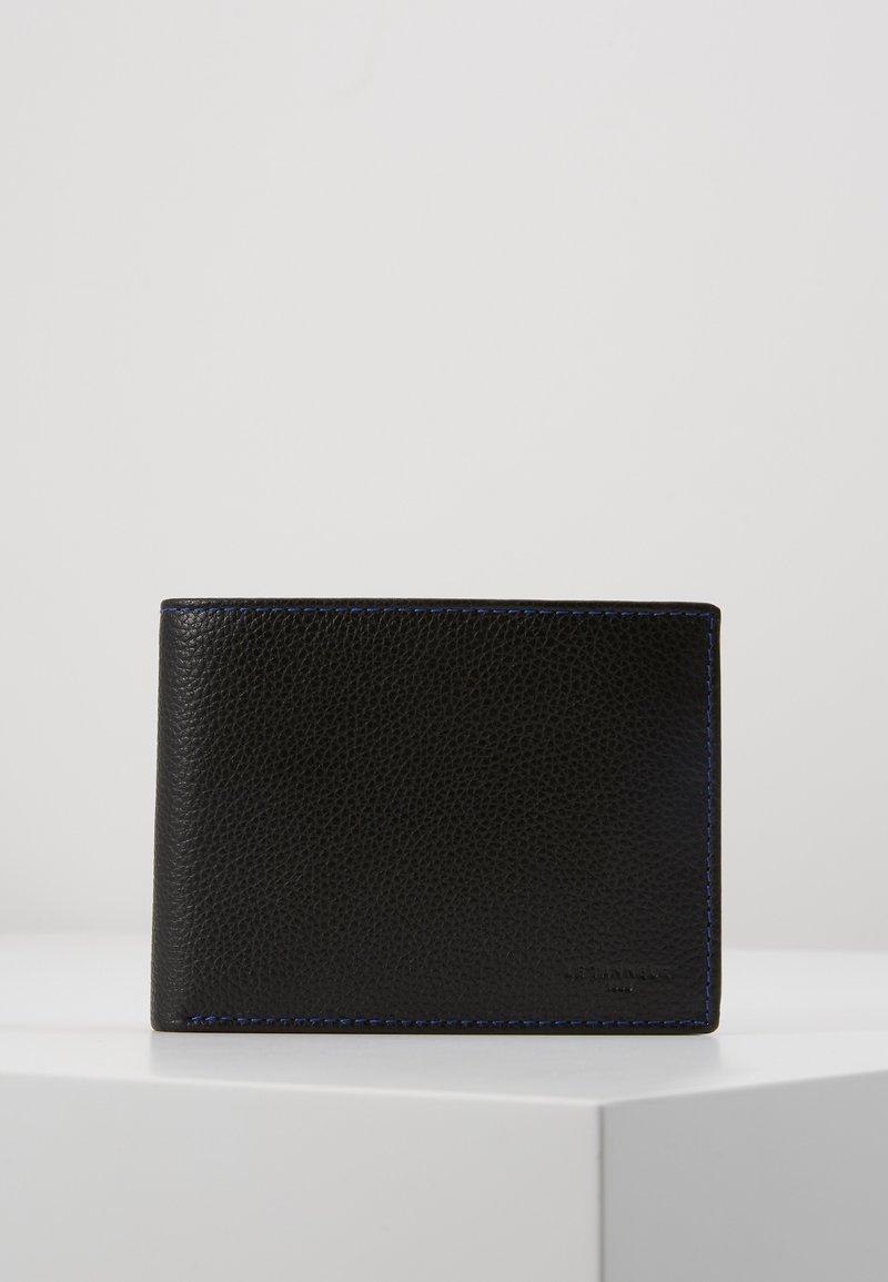 Le Tanneur - CHARLES - Wallet - noir/le bleu