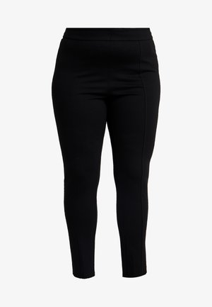 PONTE - Leggings - black