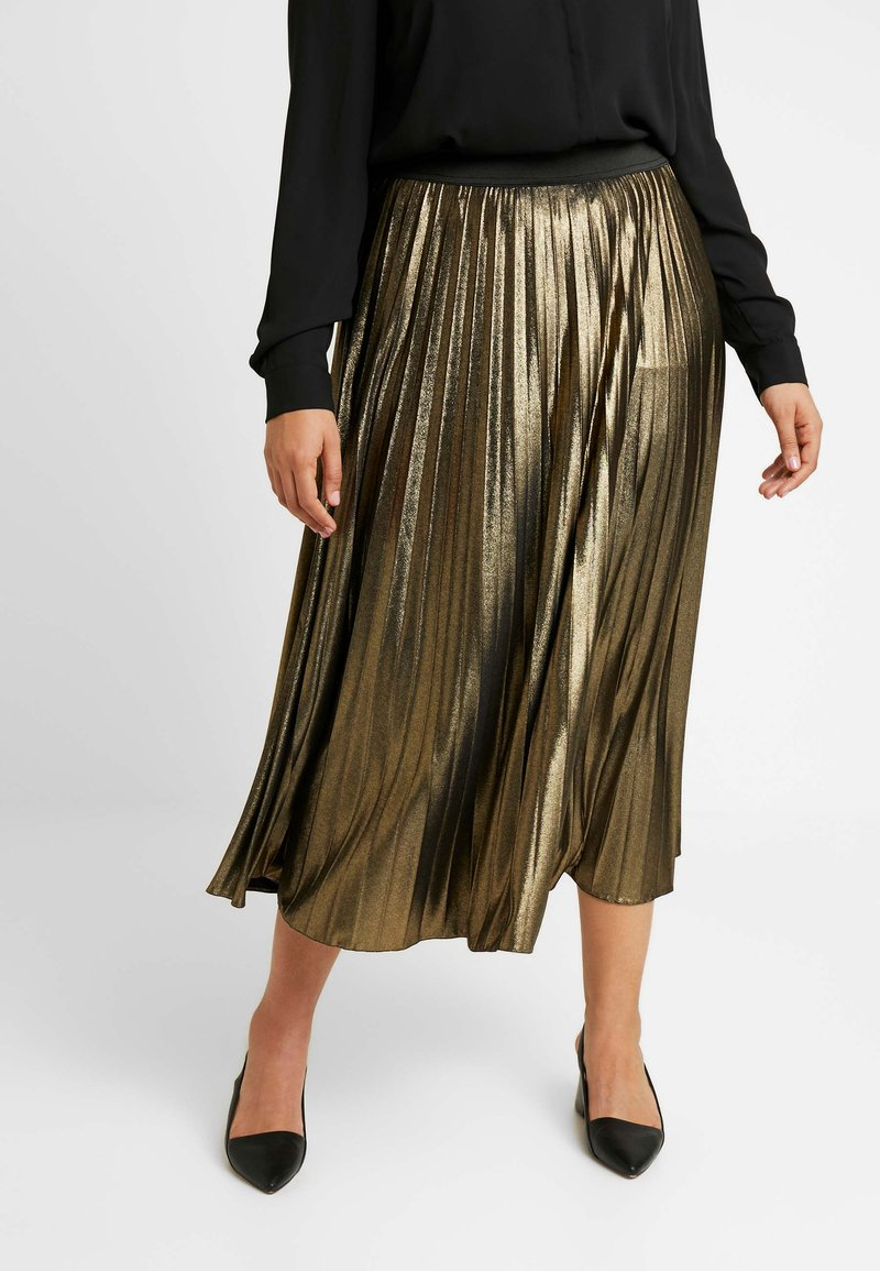 Live Unlimited London - ITY SKIRT - Jupe trapèze - gold