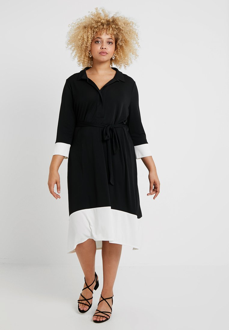 Live Unlimited London - IVORY FRENCH DRESS - Day dress - black
