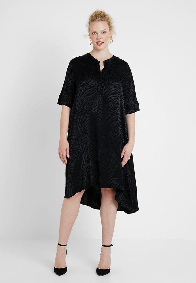 ZEBRA DRESS - Cocktail dress / Party dress - black