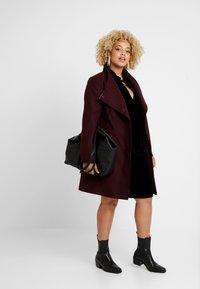 Live Unlimited London - COCOON DRESS - Day dress - black - 1