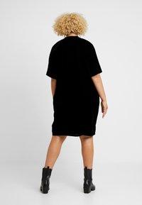 Live Unlimited London - COCOON DRESS - Day dress - black - 2