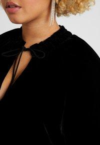 Live Unlimited London - COCOON DRESS - Day dress - black - 5