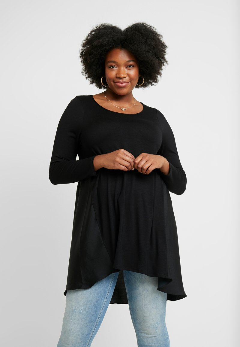 Live Unlimited London - MIX  - Long sleeved top - black