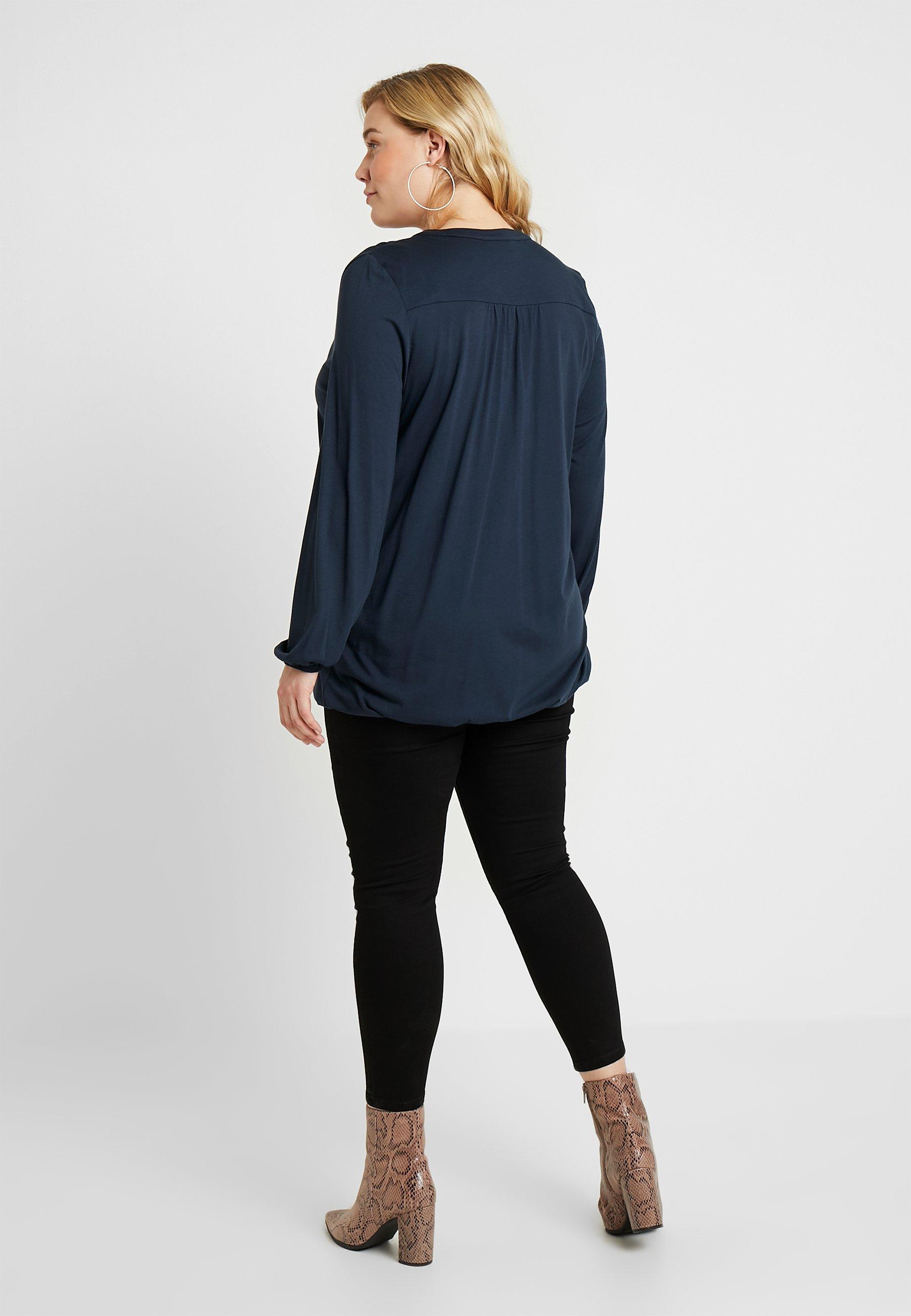 Live Unlimited London BUBBLE - T-shirt à manches longues blue