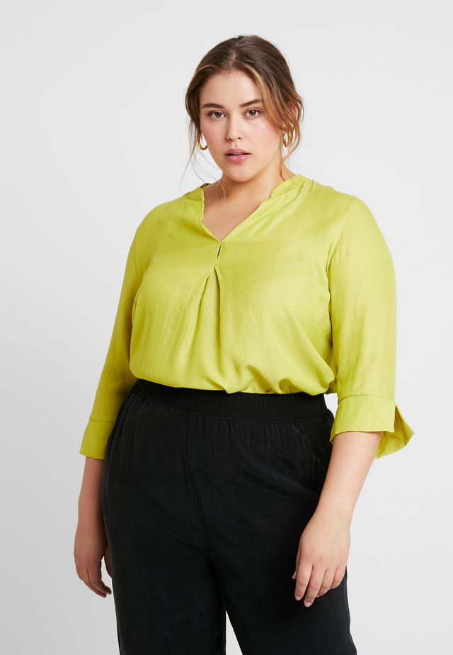CHAMBRAY - Bluse - lime