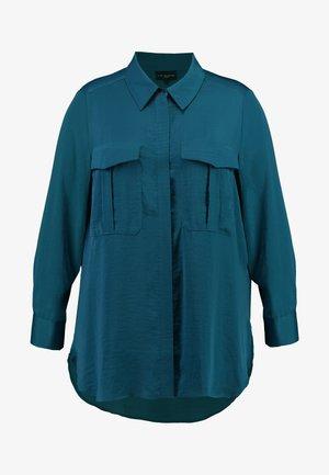 MILITARY HAMMERED  - Camisa - aqua