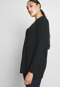Live Unlimited London - FRENCH CREPE BLOUSE - Long sleeved top - black - 3