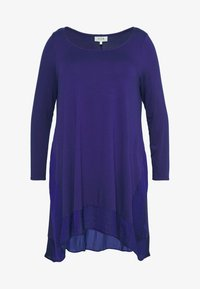 Live Unlimited London - BLUE CUT & SEW - Long sleeved top - blue - 3