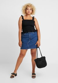 Levi's® Plus - PL DECONSTRUCTED SKIRT - A-line skjørt - meet in the middle - 1