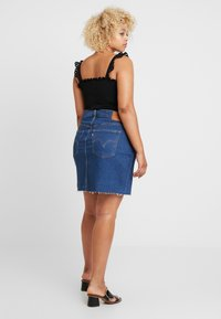 Levi's® Plus - PL DECONSTRUCTED SKIRT - A-line skjørt - meet in the middle - 2