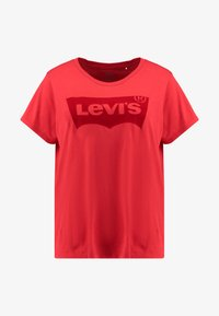 Levi's® Plus - PERFECT TEE - T-shirt imprimé - brilliant red - 4