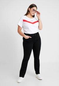 Levi's® Plus - FLORENCE TEE - T-shirt imprimé - white - 1
