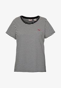 Levi's® Plus - PERFECT CREW - T-shirt print - raita caviar - 4