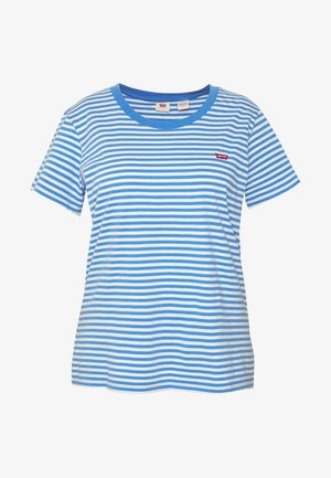 PERFECT CREW - T-shirts med print - blue