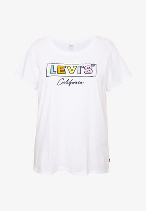 PERFECT TEE - T-shirts med print - white